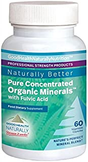 Pure Concentrated Organic Minerals™ Capsules