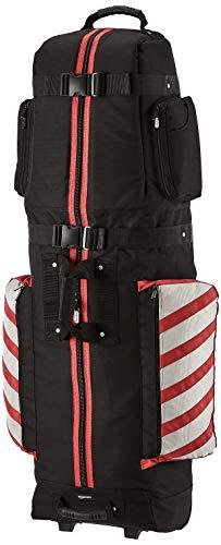 Amazon Basics Premium Soft-Sided Golf Travel Bag - Red