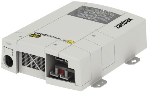 Xantrex 804-1240-02 Truecharge2 12V 40A 3 Bank Parallel Stackable Battery Charger, amps - Output = 40   Banks = 3   Battery Type = fl