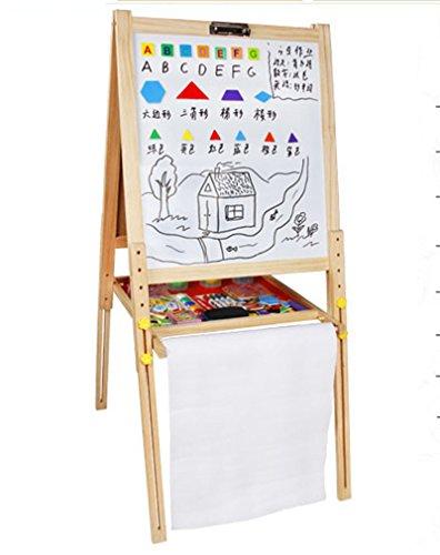 VIUNCE Zeichenbrett Staffelei Kinder können Gerüstbau Baby-Lesben Spielzeug Aufzug Magnetische Tablet-seitig Kinder Staffelei