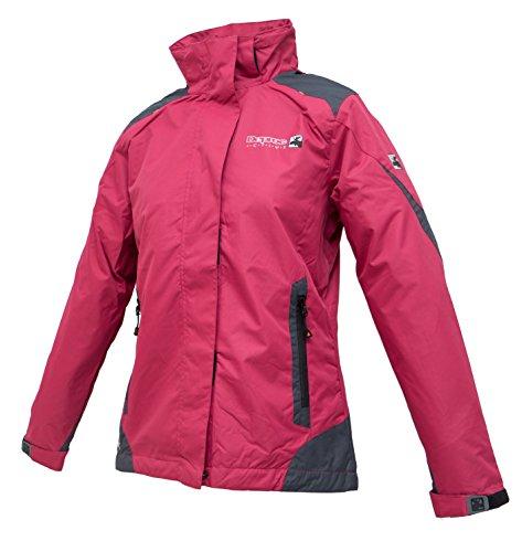 Deproc Active Damen Outdoorjacke und Winterjacke Rokky, Rot (Darkred 190), 54033-630-38 EU