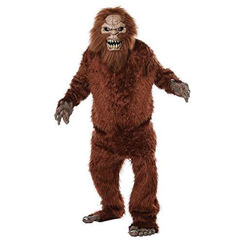 California Costumes Men's Sasquatch-Adult Costume, TAN/Brown, ONE Size
