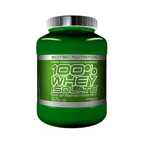 Scitec Nutrition 100% Whey Isolate enrichi en L-glutamine, 2 kg, Chocolat