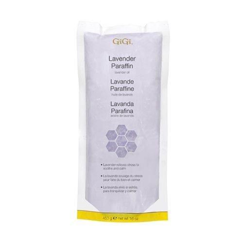 GiGi Lavender Paraffin Wax with Grape Seed Oil, 16 oz