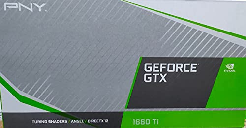 VGA PNY GTX 1660TI Dual Fan 6GB GDDR6