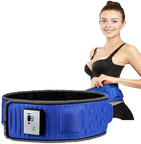NOLLY Quemador De Grasa del Vientre Eléctrico para Hombres Y Mujeres/Cinturón Magnético Cinturón Quemagrasas Vibración Adelgazante