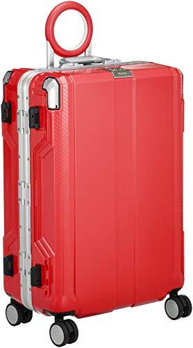 [レジェンドウォーカー] スーツケース 不可 保証付 65L 62 cm 5.3kg レッド