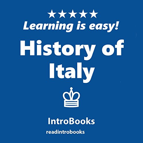History of Italy audiobook cover art