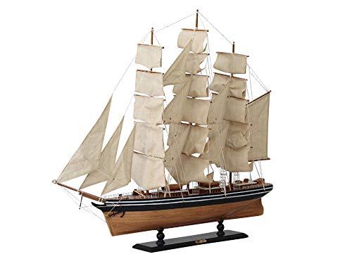 Modellschiff Cutty Sark Dreimaster Segelschiff Yacht Schiff 102cm kein Bausatz