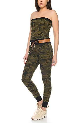 Crazy Age Jumpsuit in Camouflage Tarnfarben - 2