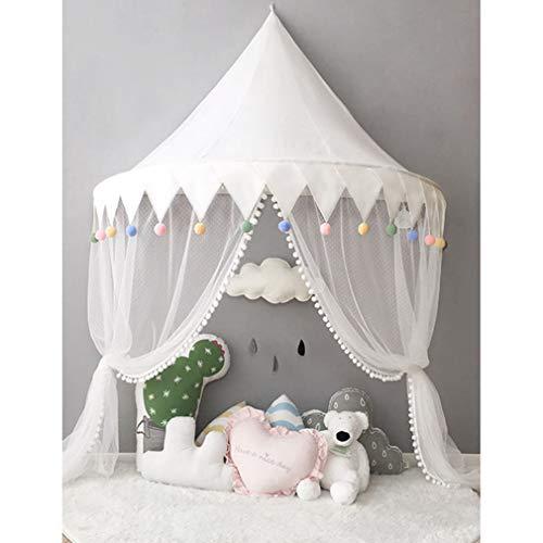 Kids Play House Tent Baby Klamboe Bed Luifel Portable Crib Nursery Gordijnen voor slaapkamer Girls Boys Decoratieve muur opknoping,F