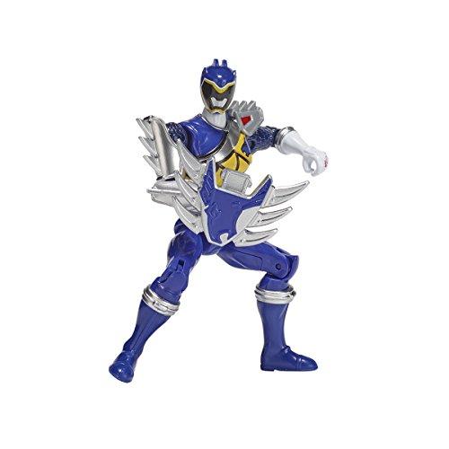 Power Rangers Figur Dino Super Charge 12cm–Blauer Ranger, Dino-Modus