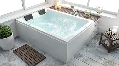emotion Andalusia Whirlpool ohne Armatur Links 180x130x62 cm