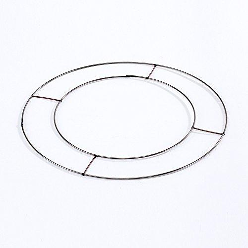 20 x Flat Wire Wreath Rings 12' (30cm) Diameter
