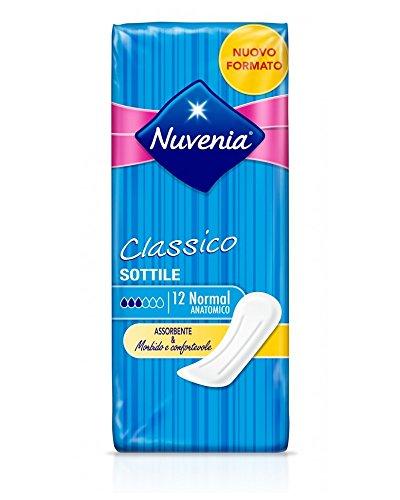 Multicolore Nuvenia Set 12 Ultra Notte Ali X 10 30719 Salvaslip Assorbente Igiene Intima Femminile Unica