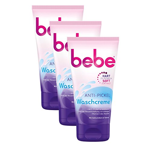 bebe Anti Pickel Waschcreme (3 x 150ml)