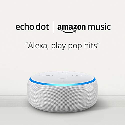Echo Dot (3rd Gen) for $0.99 and 1 month of Amazon Music Unlimited for $7.99
