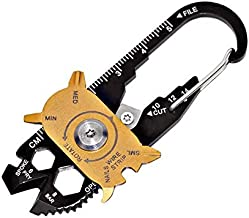 Gadget Portable eDC Portable Mini Utility FIXR 20 in 1 Pocket Multi Tool Keychain Outdoor Camping Key Ring