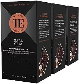 Teahouse Exclusives Luxury Tea Bag Earl Grey, 52.9 g / 3er Pack