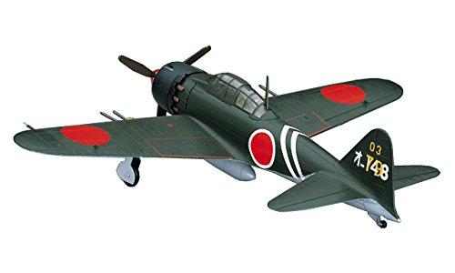 ハセガワ 1/72 日本海軍 三菱 A6M5c 零式艦上戦闘機 52型丙 プラモデル D23
