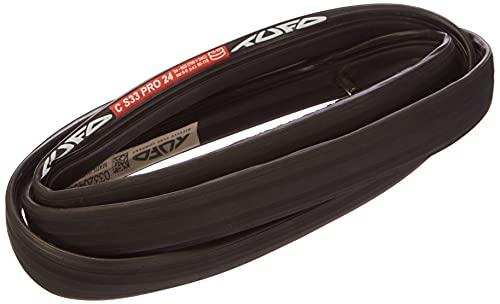 Tufo C S33 Pro 24 Neumático Tubular, Unisex adulto, Negro, 24 mm/ 28'