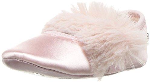 UGG F6440 Ballerina culla Girl Baby pink Fluff Satin/eco fur Newborn Shoe [18]