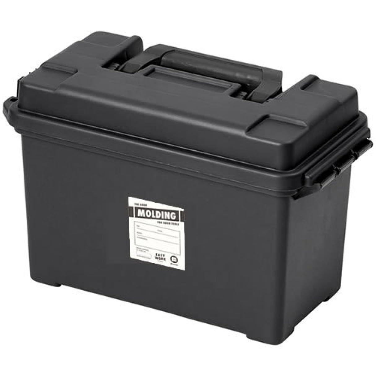 礼拝前述の歌詞molding AMMO TOOL BOX アーモ(弾薬入れ)ツールボックス Lサイズ (ブラック)