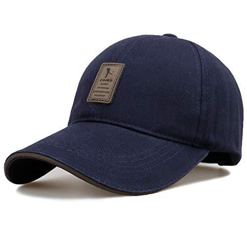 Gshy Gorra de béisbol Cool Sport Golf Ciclismo Senderismo Ocio para Hombres Mujeres Accesorios azul marino Talla única