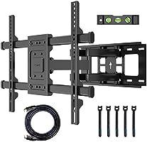 BONTEC TV Wall Bracket for 32-70 inch LED LCD Flat & Curved Screen, Swivel Tilt TV Mount Full Motion, Heavy Duty Strong...
