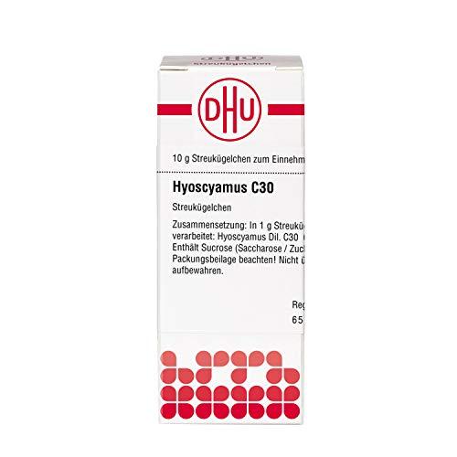 DHU Hyoscyamus C30 Globuli, 10 g Globuli