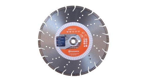 Husqvarna 542751360 Vari-Cut General Purpose Abrasive Material Diamond Blade, 16-Inch X .140-Inch X 1-Inch
