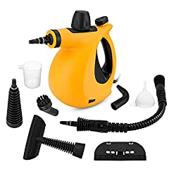 powerful SamFabulous hand pressure steam cleaner, steam cleaner with 9 accessories …