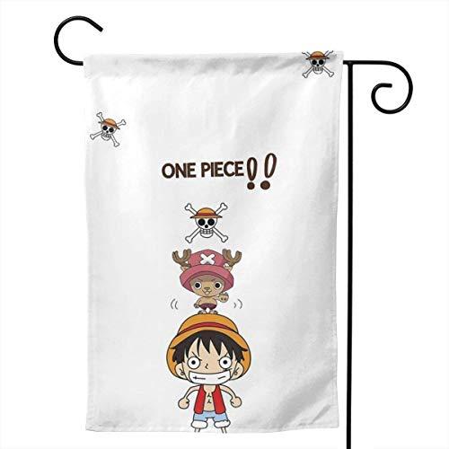 UPNOW Garden Flag One Piece - Banderas Decorativas únicas para jardín al Aire Libre para su hogar, Blanco