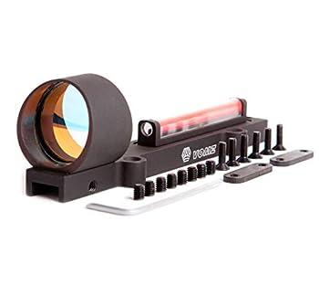 Pilad PFO 1x25 Fiber Optic Sight Original Russian Red Dot for Vent-Rib NO Battery Needed 3 MOA.