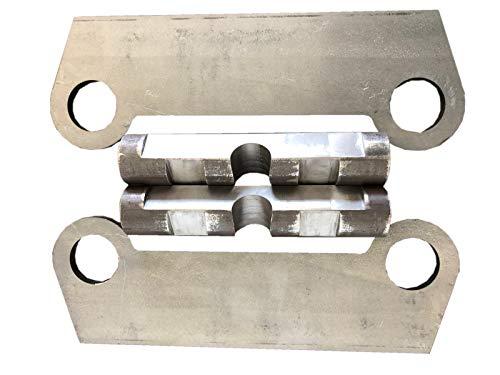Rahmen Symlock MS08Aufnahme Einzelteile ungeschweißt/Schnellwechsel Adapter SW08 Bagger/Lasergeschnitten/Made in Germany