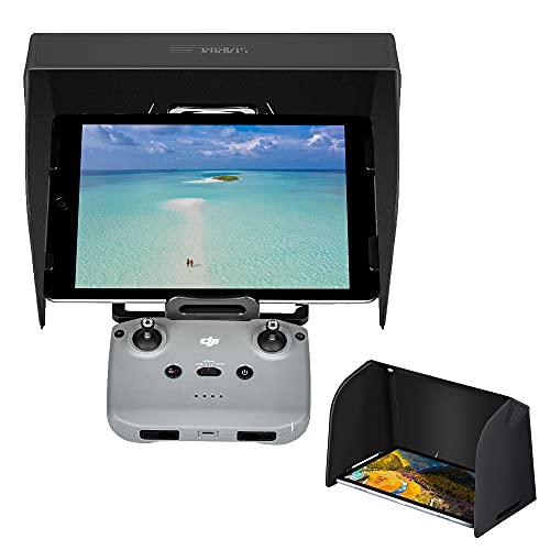 Sonnenblende, Faltbare Tablets-Monitor-Sonnenschutzhülle für DJI Mini SE/DJI Air 2S/ Mini 2/ Mavic Air 2/ Mavic Mini und PU-Leder-Materialien Magnetisches Absorptionsdesign für 710.1-10.8 Zoll