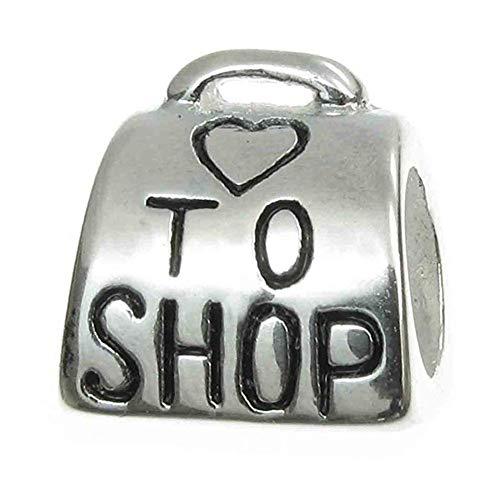 naar winkel bedeltje 925 sterling zilver koffer bedeltas bedeltje liefde bedeltje voor Pandora bedelarmband