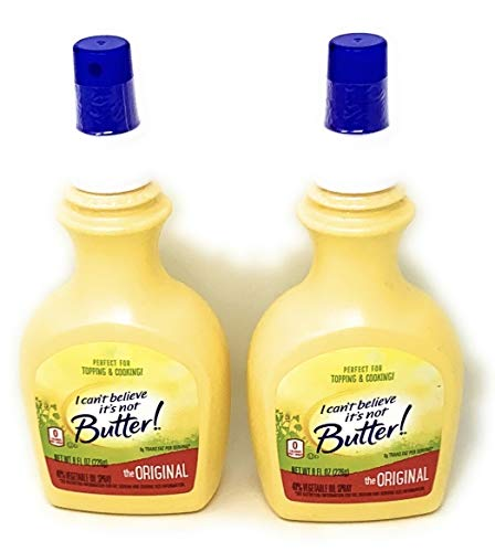 I Can't Believe It's Not Butter! Spray, 8 oz, Pack of 2