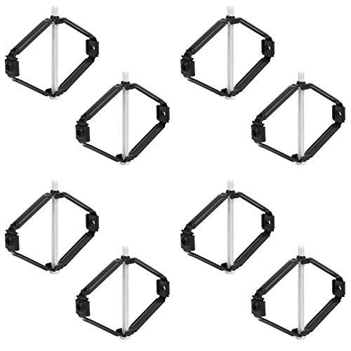 Marhynchus 40 Pares de Herramientas de reparación de Caja de interruptores de Montaje en Pared de 86 mm Caja Trasera de cableado de interruptores internos(Modelo de Estructura de Acero)
