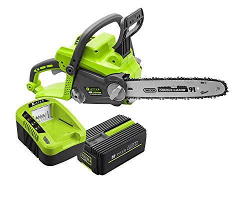 Zipper Motosierra Electrica ZI-KTS40V + Bateria 40V Multiherramienta + Cargador Rapido