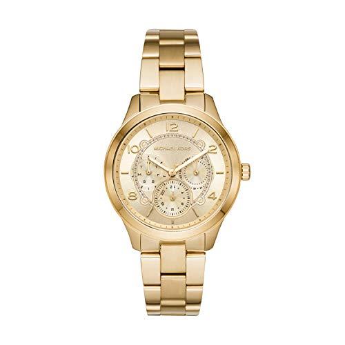 Michael Kors Reloj Analógico para Mujer de Cuarzo con Correa en Acero Inoxidable MK6588