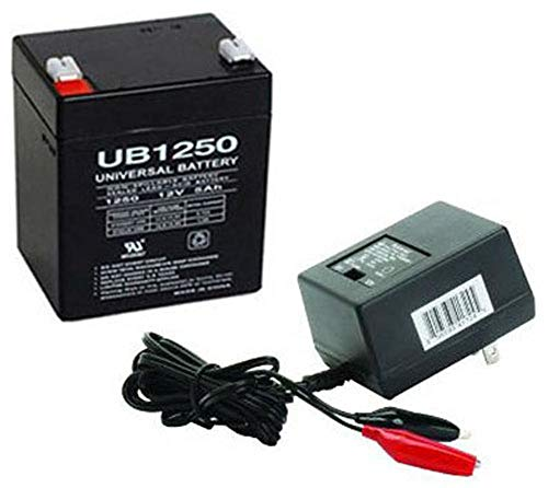 12V 5AH Battery for Razor PowerRider 360 Electric Tricycle with Charger