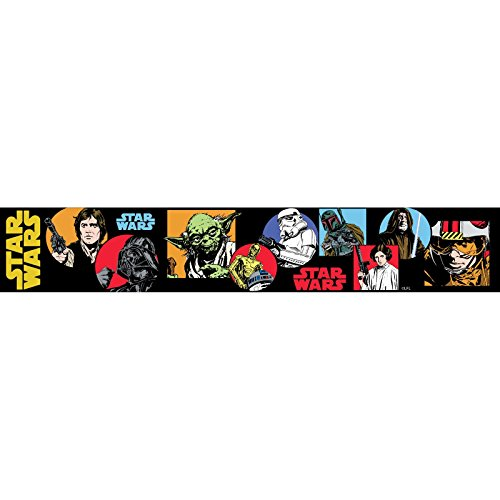 Star Wars Cartoon selbst Selbstklebende Tapete Grenze 5m
