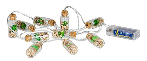 Guirnalda de Luces para Interior (10 ledes, para Plantas Artificiales)