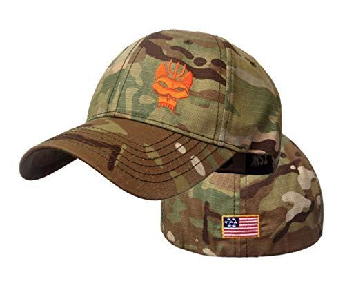 """Berretto da baseball per uomo e donna""""Seal Team Series"""" berretto da baseball tattico Cappello elasticizzato Snapback da corsa/pesca"""