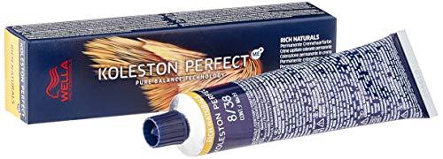 Wella Professionals Koleston Perfect Me + Rich Naturals 8/38 Hellblond Gold Perl, 60 ml