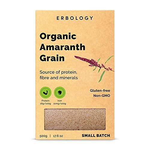 Graines d'Amarante Bio 500g - Sans Gluten - Protéines de Qualité Supérieure