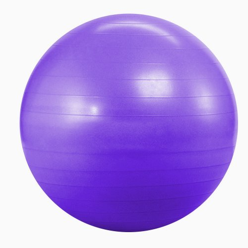 Kabalo Violet 65cm ANTI BURST GYM exercice Yoga SWISS ballon de fitness pour femmes enceintes accouchement, etc. (y compris pompe) (Purple 65cm ANTI BURST GYM EXERCISE SWISS YOGA FITNESS BALL for PREGNANCY BIRTHING, etc (including pump)) Accueil du matériel de gymnastique!