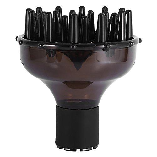 Diffusore universale per asciugacapelli Asciugacapelli professionale Diffusore per capelli ricci naturali ondulati, Copertura diffusore asciugacapelli