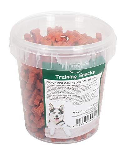 Snack per Cani Bone al Manzo Training Snack per Cani Ossicini con Manzo 400g